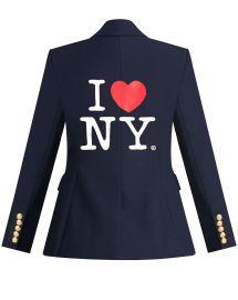 I Heart NY Dickey Jacket by Veronica Beard  at Veronica Beard
