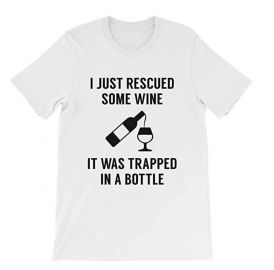 I Just Rescued Some Wine by VectorPlanet at Amazon at Amazon