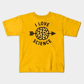 I love science T-Shirt at Teepublic