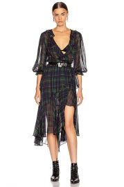 ICONS Objects of Devotion The Flamenco Dress in Classic Tartan   FWRD at Forward