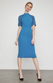 IMAGES Lace Inset Sheath Dress at BCBGMAXAZRIA