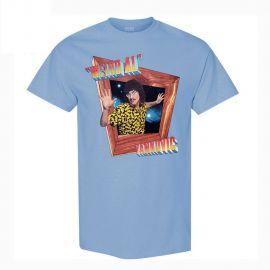 IN-3D Blue T-Shirt by Weird Al at JSR Direct