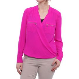 INC International Concepts I N C  Zipper-Pocket Surplice Blouse  Created for Macy s   Reviews - Tops - Women - Macy s at Macys