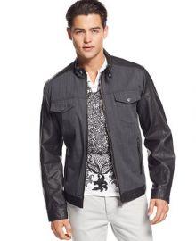 INC International Concepts Dan Denim Jacket at Macys