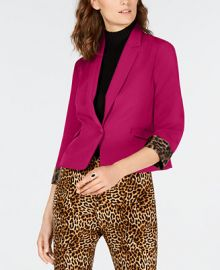 INC International Concepts INC Cropped Blazer  Created for Macy s   Reviews - Jackets   Blazers - Women - Macy s at Macys