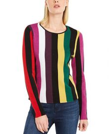 INC International Concepts INC Plus Size Striped Sweater  Created for Macy s   Reviews - Sweaters - Plus Sizes - Macy s at Macys