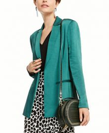 INC International Concepts INC Satin Open-Front Blazer  Created for Macy s   Reviews - Jackets   Blazers - Women - Macy s at Macys