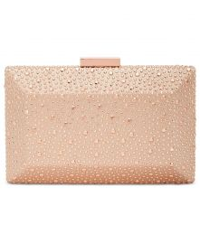 INC International Concepts Jessaca Stone Box Clutch at Macys