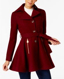INC International Concepts Skirted Walker Coat at Macys