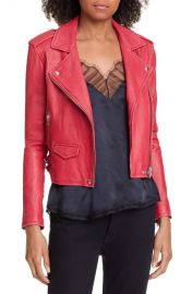 IRO   x27 Ashville  x27  Lambskin Leather Moto Jacket   Nordstrom at Nordstrom