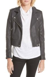 IRO   x27 Ashville  x27  Leather Jacket   Nordstrom at Nordstrom