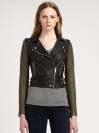 IRO - Ashville Leather Jacket at Saks Fifth Avenue