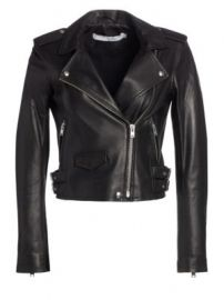 IRO - Ashville Leather Moto Jacket at Saks Fifth Avenue