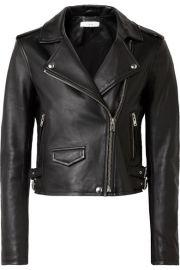 IRO   Ashville leather biker jacket at Net A Porter