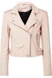 IRO - Ashville leather biker jacket at Net A Porter