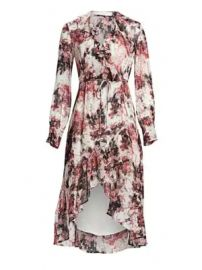 IRO - Garden Ruffle Wrap Dress at Saks Fifth Avenue
