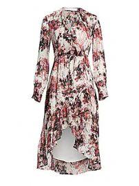 IRO - Garden Ruffle Wrap Dress at Saks Fifth Avenue