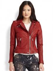 IRO - Han Leather Moto Jacket at Saks Fifth Avenue