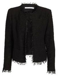 IRO - Shavani Fringe-Trimmed Jacket at Saks Fifth Avenue