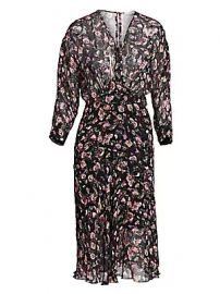 IRO - Temper Floral Dress at Saks Fifth Avenue
