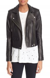 IRO  Ashville  Leather Jacket at Nordstrom