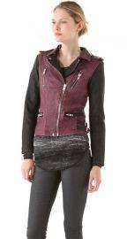 IRO Anabela Leather Jacket at Shopbop