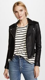 IRO Ashville Leather Jacket at Shopbop