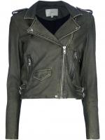 IRO Biker jacket worn by Lily at Farfetch