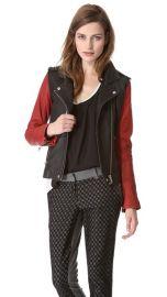 IRO Blanca Leather Jacket at Shopbop