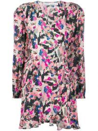 IRO Bloomy LS Print Dress - Farfetch at Farfetch