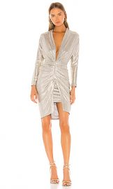 IRO Cilty Dress in Gold from Revolve com at Revolve