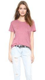 IRO Clay Tee Pink at Shopbop