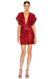IRO Lilou Dress in Red   FWRD at Forward