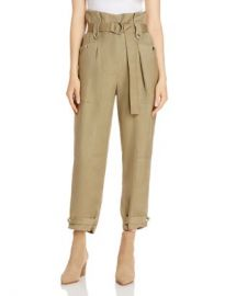 IRO Mohon Paper Bag Cropped Pants Women - Bloomingdale s at Bloomingdales