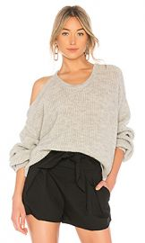 IRO Sane Sweater in Pearl Grey from Revolve com at Revolve