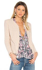 IRO Shavani Jacket in Pink Sand from Revolve com at Revolve