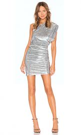 IRO X REVOLVE Exciter Dress in Silver from Revolve com at Revolve