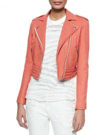IRO Zefir Jacket in Light Red at Neiman Marcus