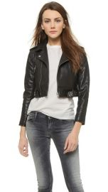 IRO Zekine Leather Jacket at Shopbop