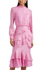 ISA SILK-BLEND dress saloni at Barneys