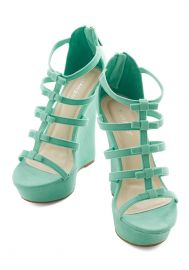Ice Cream Social Butterfly Wedge at ModCloth