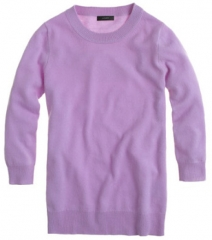 Iced Lilac Tippi Sweater at J. Crew