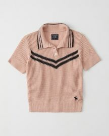 Icon Sweater Polo by Abercrombie & Finch at Abercrombie & Finch