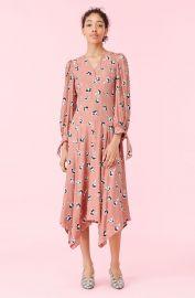 Ikat Paintbrush Dress at Rebecca Taylor