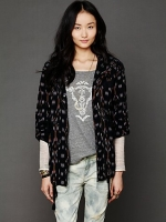 Ikat parka at Free People at Free People
