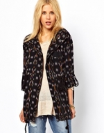 Ikat parka jacket by Free People at Asos
