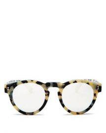 Illesteva Women  x27 s Leonard Mirrored Round Sunglasses  48mm Jewelry  amp  Accessories - Bloomingdale s at Bloomingdales