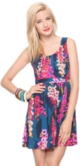 Impressionist Flowers Dress at Forever 21