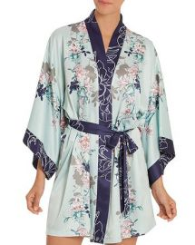 In Bloom by Jonquil Floral Kimono Wrap Robe at Bloomingdales