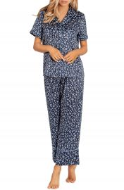 In Bloom by Jonquil Satin Crop Pajamas   Nordstrom at Nordstrom